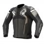 ALPINESTARS Кожено яке Atem V4 Leather Jacket Black Grey White ALPINESTARS