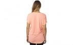 FOX Дамска тениска RESPONDED V NECK ROLL SLEEVE FOX