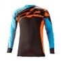 ACERBIS Тениска X-Gear 17 оранжев/син
