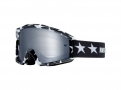 FOX Маска MAIN GOGGLE - STRIPE BLK/WHT FOX