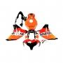 HONDA Спойлери комплект за Honda CBR 1000RR 2008-2011 REPSOL