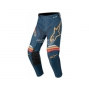 ALPINESTARS Панталон RACER BRAAP PANT NAVY ORANGE ALPINESTARS