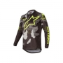 ALPINESTARS Блуза RACER TACTICAL JERSEY BLACK CAMO YELLOW FLUO ALPINESTARS