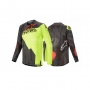 ALPINESTARS Блуза TECHSTAR FACTORY JERSEY BLACK YELOW ALPINESTARS