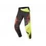 ALPINESTARS Панталон TECHSTAR FACTORY PANTS BLACK YELLOW ALPINESTARS