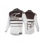 ALPINESTARS Блуза RACER SUPERMATIC JERSEY WHITE