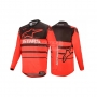 ALPINESTARS Блуза RACER SUPERMATIC JERSEY BRT RED