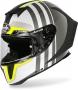 AIROH  Каска AIROH GP550 S SKYLINE BLACK MATT