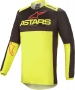 ALPINESTARS FLUID TRIPLE JERSEY BLACK YELLOW FLUO BRIGHT RED ALPINESTARS