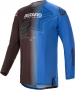 ALPINESTARS TECHSTAR PHANTOM JERSEY BLACK BLUE ALPINESTARS